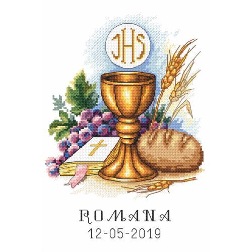 Z 10208 Vyšívací sada - Památka na první svaté přijímání