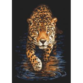 Vyšívací sada - Panter - noční lov
