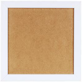 Dřevěný rámeček - bílá barva - (23,2x23,2cm)