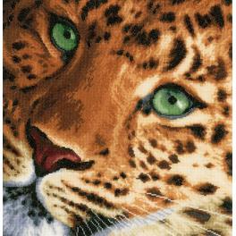 LPN-0155213 Vyšívací sada - Leopard