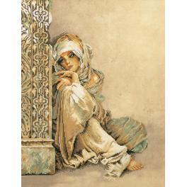 LPN-0008001 Vyšívací sada - Žena Arabic