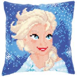 Vyšívací sada - Polštář - Elsa z Ledového království