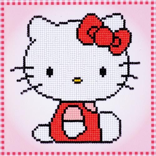 VPN-0175280 Diamond painting sada - Hello Kitty