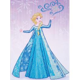 Diamond painting sada - Elsa z Ledového království