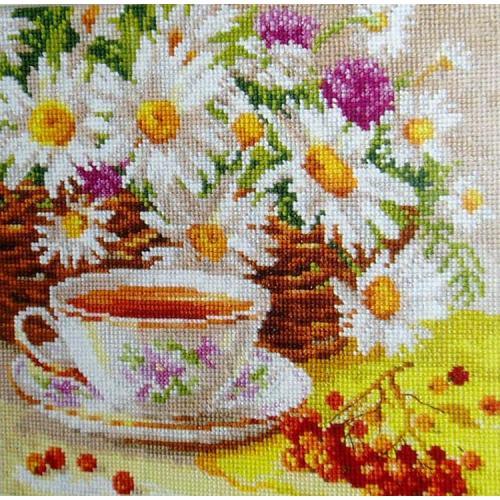 ALI 5-13 Vyšívací sada - Odpolední čaj