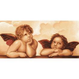 Vyšívací sada - Andělé Michelangela