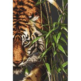Vyšívací sada - Tygr