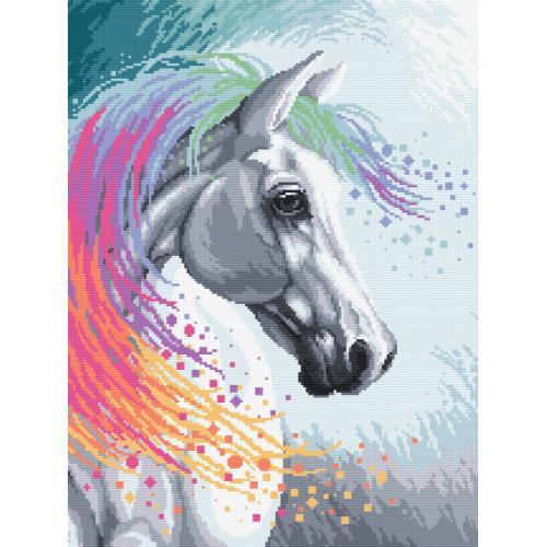 Diamond painting sada - Kouzelný kůň