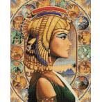 Diamond painting sada - Egyptská královna