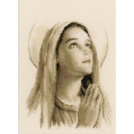 Vyšívací sada - Svatá Marie
