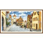 Předloha online - Malebný Rothenburg