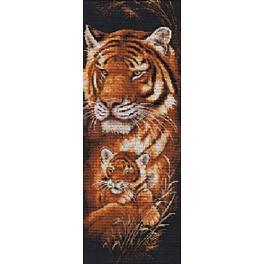 RNS 001 Vyšívací sada - Tygři