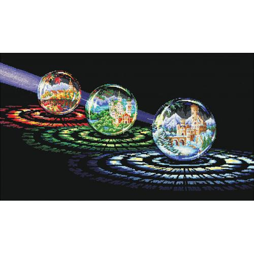 Vyšívací sada - Magické koule