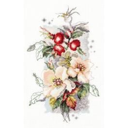 Vyšívací sada - Divoká růže
