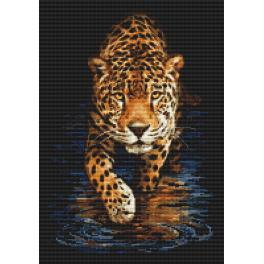 Diamond painting sada - Panter