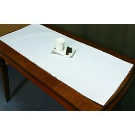 Běhoun Aida 43x110 cm bílá