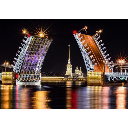 Vyšívací sada s korálký - Petrohrad