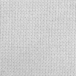 Tkanina Lugana 25 ct bílá 99x140 cm