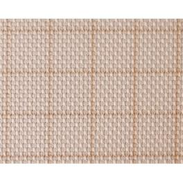 AIDA s mřížkou - hustota 54/10cm (14 ct) ecru 90x110cm