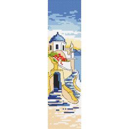 GU 10186 Předloha - Záložka - Pozdravy z Řecka