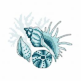W 10221 Předloha ONLINE - Mořské mušle III