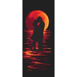 Vyšívací sada - Romantická noc