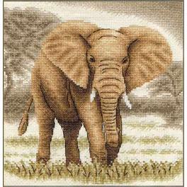 Vyšívací sada - Slon