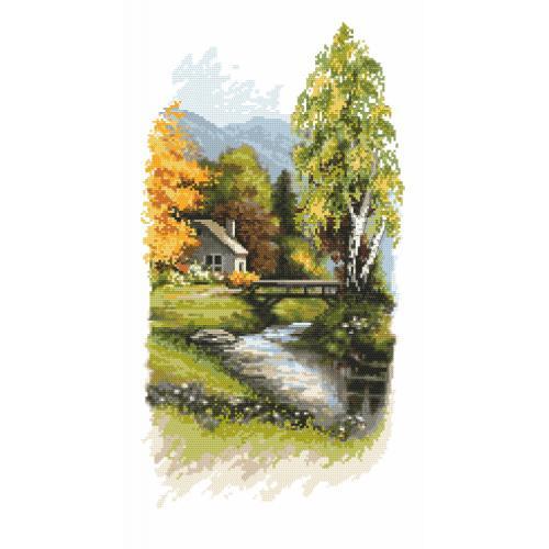 Vyšívací sada - Oznamy podzimu