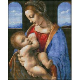 Diamond painting sada - Madonna Litta