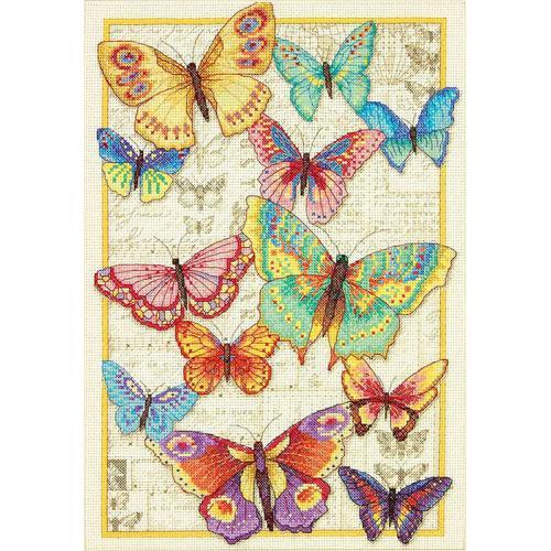 Vyšívací sada - Motýlí krása