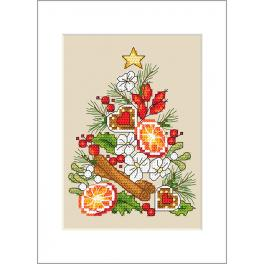 Předloha - Přání - Vánoční stromeček