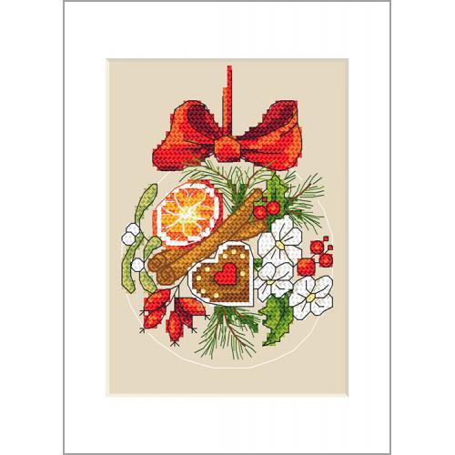 W 10232 Předloha ONLINE pdf - Přání - Vánoční koule