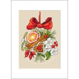 Předloha - Přání - Vánoční koule