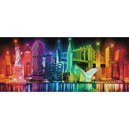 Diamond painting sada - Barvy New York