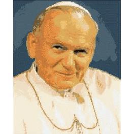 6058 Papež Jan Pavel II - Předtištěná kanava