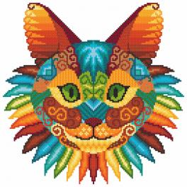 Předloha - Kočičí kaleidoskop