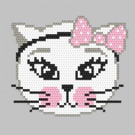 Vyšívací sada - Hravá kočka