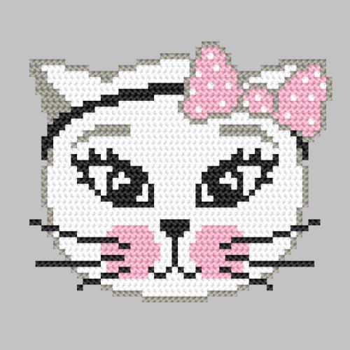 Z 10244 Vyšívací sada - Hravá kočka