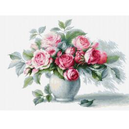LS B2280 Vyšívací sada - Etuda s růžemi