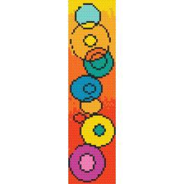 Předloha ONLINE - Záložka - Hra barev