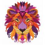 GC 10604 Předloha - Barevný lev