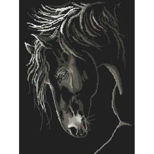 GC 10245 Předloha - Důstojný kůň