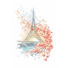Z 10406 Vyšívací sada - Pařížská krása