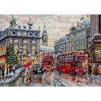 Vyšívací sada - Londýn