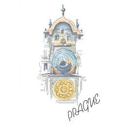 Z 10407 Vyšívací sada - Staroměstský orloj