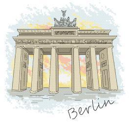 Předloha ONLINE - Berlín - Braniborská brána
