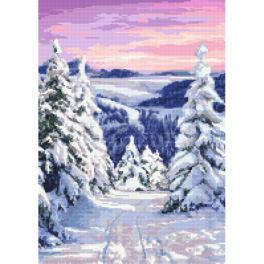 GC 10413 Předloha - Pohádková zima