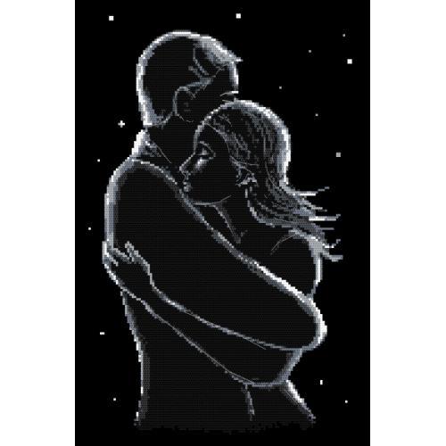 GC 10416 Předloha - Zamilovaní v noci