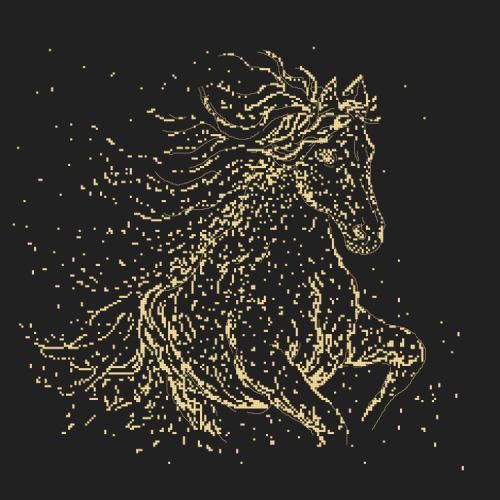 GC 10417 Předloha - Hvězdný kůň