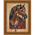 M AZ-1605 Diamond painting sada - Arabský kůň